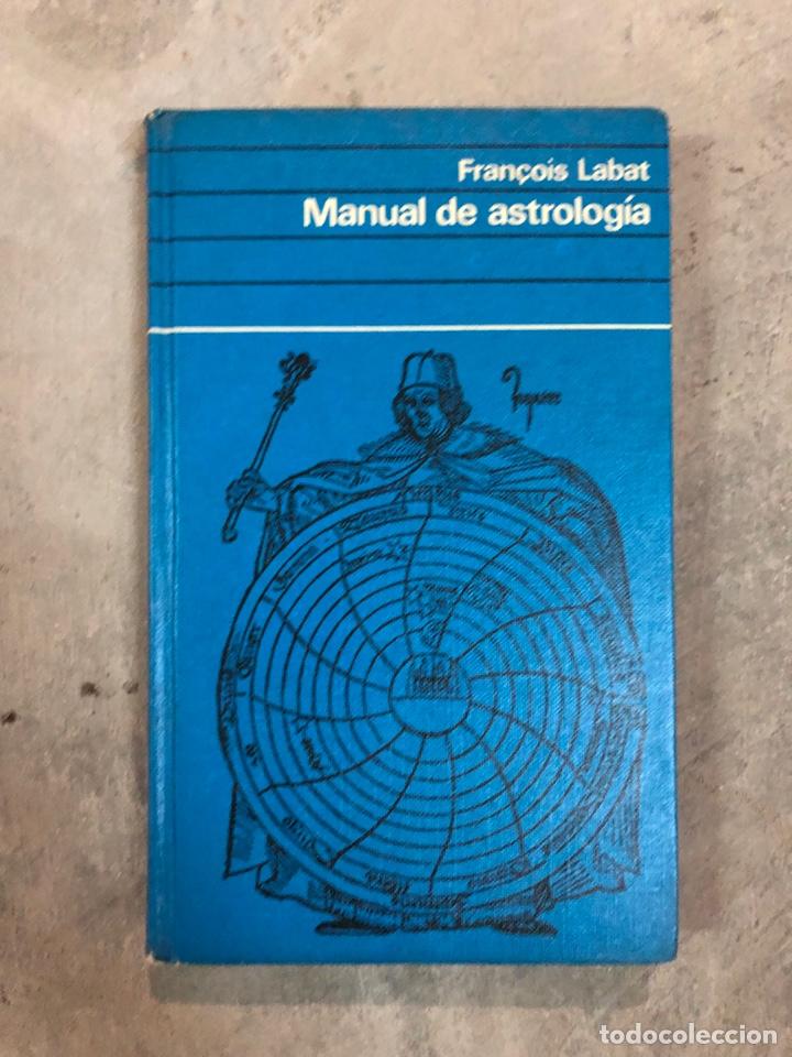 MANUAL DE ASTROLOGÍA (Libros de Segunda Mano - Parapsicología y Esoterismo - Astrología)