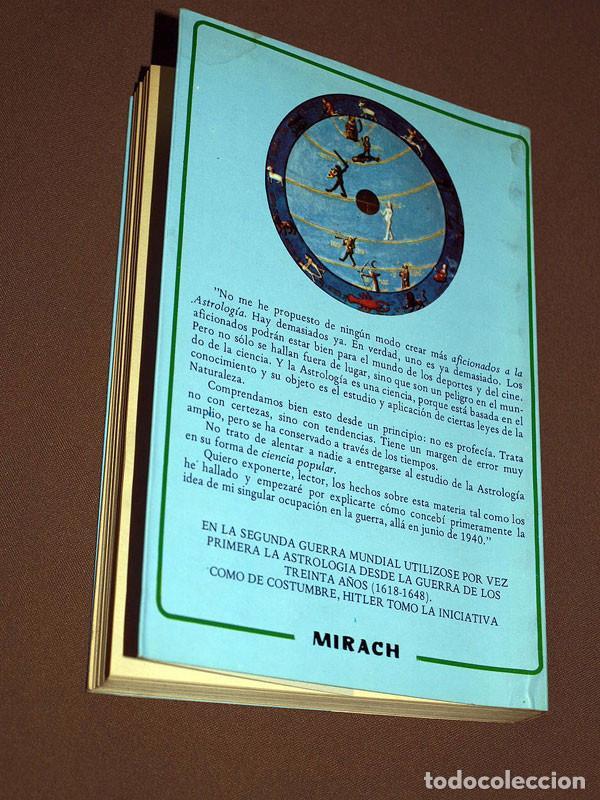Libros de segunda mano: USTED Y LA ASTROLOGÍA. Louis de WHOL. Teorema, 1981. Colección Mirach, 7. VER ÍNDICE - Foto 3 - 205311570