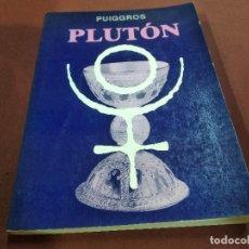Livros em segunda mão: PLUTÓN - PUIGGROS - ASTROLOGIA - ES2. Lote 207260146