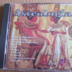 Libros de segunda mano: CD PARA ORDENADOR PC ENCICLOPEDIA MULTIMEDIA ASTROLOGIA 1997. Lote 207390606