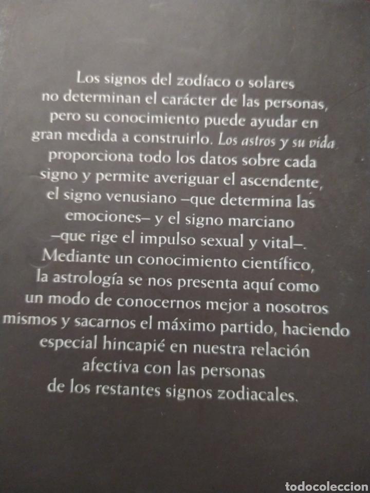 Libros de segunda mano: Los astros y su vida Meg Mario Vargas tapa dura 861 páginas - Foto 2 - 207931563