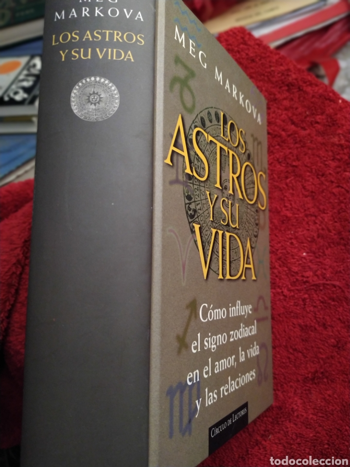 LOS ASTROS Y SU VIDA MEG MARIO VARGAS TAPA DURA 861 PÁGINAS (Libros de Segunda Mano - Parapsicología y Esoterismo - Astrología)