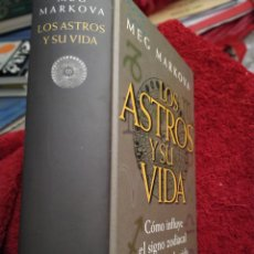 Libros de segunda mano: LOS ASTROS Y SU VIDA MEG MARIO VARGAS TAPA DURA 861 PÁGINAS. Lote 207931563