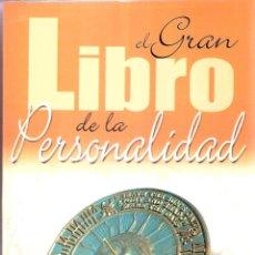 Livres d'occasion: EL GRAN LIBRO DE LA PERSONALIDAD - EQUIPO LIBSA. Lote 209180260