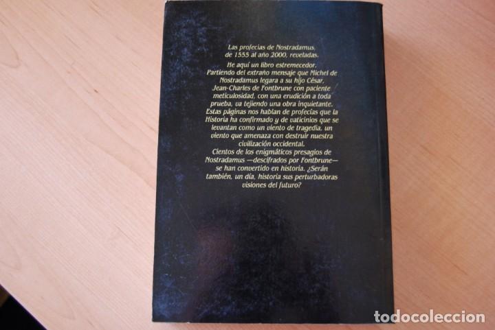 Libros de segunda mano: Nostradamus. Historiador y profeta. Jean-Charles de Fontbrune. Barcanova - Foto 3 - 210412558