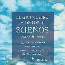 Libros de segunda mano: EL GRAN LIBRO DE LOS SUEÑOS - WILDA B. TANNER. Lote 210760207