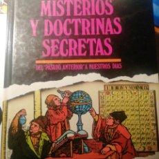 Libros de segunda mano: MISTERIOS Y DOCTRINAS SECRETAS. Lote 210819551