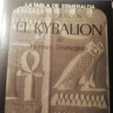 Libros de segunda mano: EL KYBALION. Lote 210825331