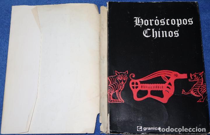 Libros de segunda mano: Horóscopos chinos - Granica Editor - 1ª edición (1974) - Foto 2 - 211425952