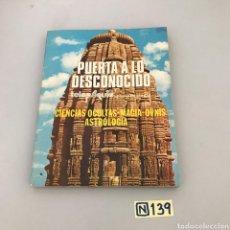 Libros de segunda mano: PUERTA A LO DESCONOCIDO. Lote 213124272
