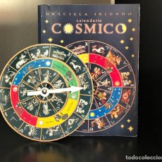 Libros de segunda mano: CALENDARIO CÓSMICO DE GRACIELA IRIONDO. Lote 217577076