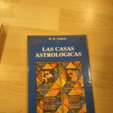 Libros de segunda mano: 'LAS CASAS ASTROLÓGICAS'. M. R. SANJUÁN. Lote 218085487