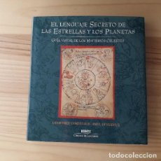 Libros de segunda mano: EL LENGUAJE SECRETO DE LAS ESTRELLAS Y LOS PLANETAS - GEOFFREY CORNELIUS; PAUL DEVEREUX. Lote 219292853