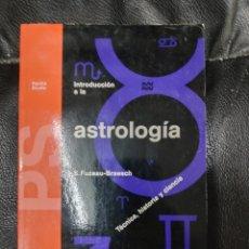 Libros de segunda mano: INTRODUCCION A LA ASTROLOGIA. Lote 221778380