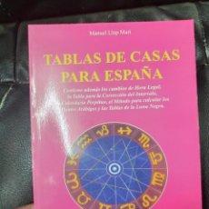 Libros de segunda mano: TABLAS DE CASAS PARA ESPAÑA ( MANUEL LLOP MARI ). Lote 222011695