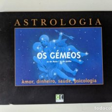 Libros de segunda mano: ASTROLOGIA - OS GEMEOS - DIDACTICA EDITORA. Lote 223093110