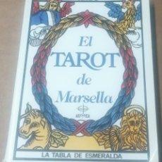 Libri di seconda mano: EL TAROT DE MARSELLA. LA TABLA ESMERALDA, EDAF, 1990. Lote 223414850