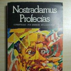 Libros de segunda mano: NOSTRADAMUS PROFECIAS. Lote 223601581