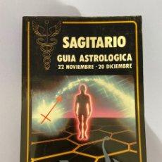 Libros de segunda mano: SAGITARIO, GUÍA ASTROLÓGICA. FREDERIC MAISONBLANCHE. 1981.. Lote 224333980