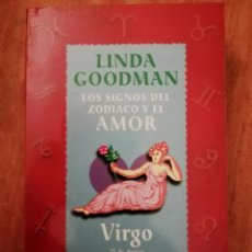 Libros de segunda mano: LOS SIGNOS DEL ZODIACO Y EL AMOR - VIRGO. Lote 225081288
