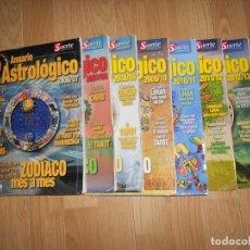 Libros de segunda mano: ANUARIO ASTROLOGICO ZODIACO MES A MES - VICENTE CASSANYA - 7 NUMEROS DESDE EL AÑO 2006 HASTA EL 2013. Lote 226817165