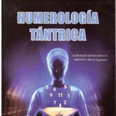 Libros de segunda mano: NUMEROLOGÍA TÁNTRICA. Lote 193457168