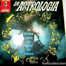 Libros de segunda mano: DRICOT, G. L. LA ASTROLOGÍA. (COL. MARABU ZAS, 66). BARCELONA: BRUGUERA, [1963].. Lote 229856360