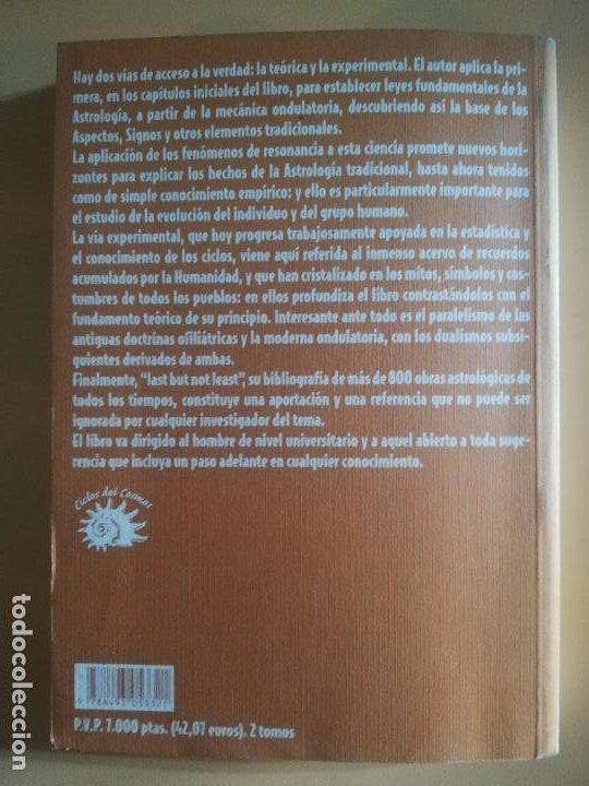 Libros de segunda mano: INVESTIGACIONES SOBRE ASTROLOGIA. DEMETRIO SANTOS SANTOS. VOL. II. CICLOS DEL COSMO. 1999. - Foto 5 - 231077225
