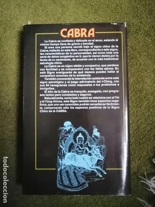 Libros de segunda mano: HORÓSCOPO CHINO. CABRA y CABALLO (A. LI-YAU) . 1988 - Foto 2 - 232236270