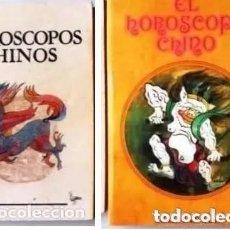 Libros de segunda mano: 2 LIBROS DE HOROSCOPOS CHINOS. Lote 234914490
