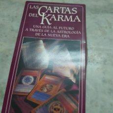 Libros de segunda mano: PRPM 78 LAS CARTAS DEL KARMA. UNA GUÍA AL FUTURO ASTROLOGÍA NUEVA ERA. Lote 235847110