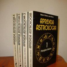 Libros de segunda mano: APRENDA ASTROLOGÍA - MARION D. MARCH Y JOAN MCEVERS - MARTÍNEZ ROCA, RARO. Lote 237462800