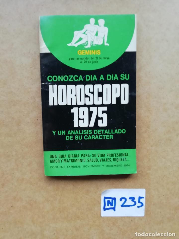 HOROSCOPO 1975 (Libros de Segunda Mano - Parapsicología y Esoterismo - Astrología)