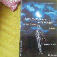 Libros de segunda mano: LOS MISTERIÓS DE LA MUJER. SIMBOLOGIA DE LA LUNA. ESTHER HARDING. Lote 244860880