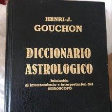 Libros de segunda mano: DICCIONARIO ASTROLÓGICO. Lote 245397230