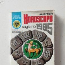 Libros de segunda mano: HOROSCOPO: SAGITARIO 1985. Lote 246422070