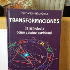 Libros de segunda mano: LIBRO PSICOLOGÍA ASTROLÓGICA TRANSFORMACIONES HUBER. Lote 254857545