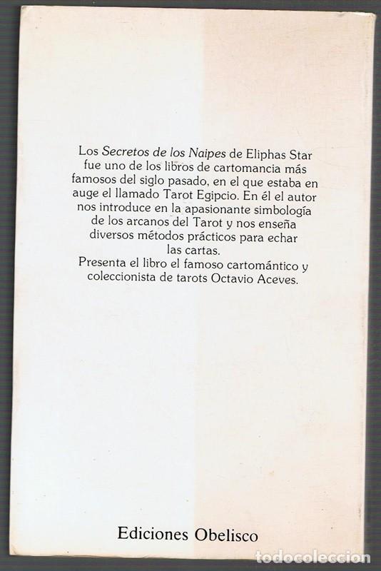Libros de segunda mano: SECRETOS DE LOS NAIPES ELIPHAS STAR - Foto 2 - 256056410