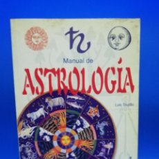 Libros de segunda mano: MANUAL DE ASTROLOGIA. LUIS TRUJILLO. LIBSA. 2002. PAGS. 319.. Lote 257769785