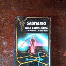 Libros de segunda mano: SAGITARIO. GUÍA ASTROLOGÍA. AÑO 1989. USADO Y BUEN ESTADO.. Lote 263019580