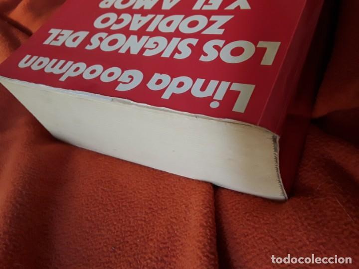 Libros de segunda mano: Los signos del zodiaco y el amor, de Linda Goodman. Urano. Magnífico estado - Foto 2 - 263043130