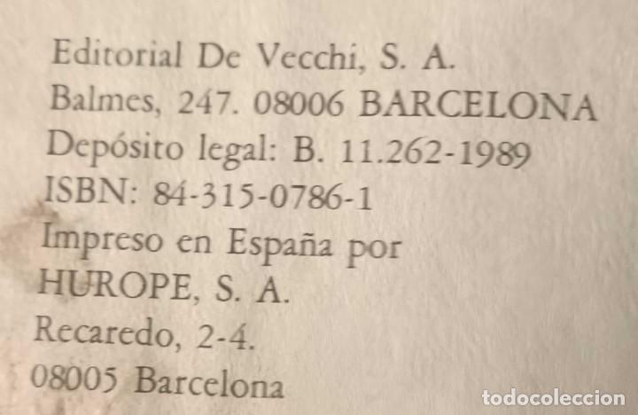 Libros de segunda mano: LIBRO CONOZCA SU PRESENTE Y SU FUTURO CON EL HORÓSCOPO CHINO, 1989 - Foto 5 - 263101375