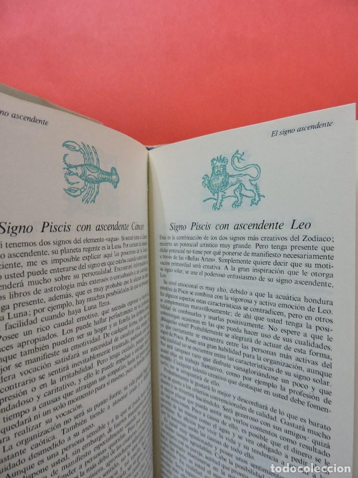 Libros de segunda mano: Guía práctica de Astrología. Piscis. PARKER, Julia. Guías de bolsillo Folio 1981 - Foto 2 - 263258970