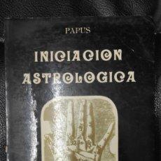 Libros de segunda mano: INICIACION ASTROLOGICA PAPUS EDITORIAL HUMANITAS 1995. Lote 263542080
