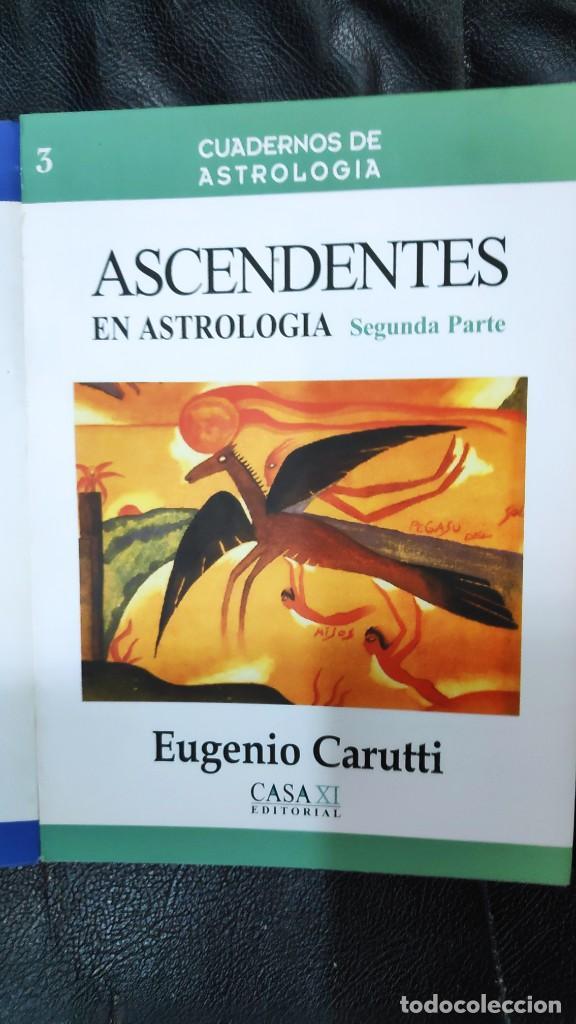 Libros de segunda mano: ASCENDENTES EN ASTROLOGIA 2 TOMOS CUADERNOS DE ESTROLOGIA EUGENIO CARUTTI CASA XI EDITORIAL - Foto 2 - 263546970