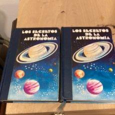 Libros de segunda mano: LIBROS LOS SECRETOS DE LA ASTRONOMÍA. Lote 264315060