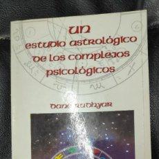Libros de segunda mano: UN ESTUDIO ASTROLOGICO DE LOS COMPLEJOS PSICOLOGICOS ( DANE RUDHYAR) LUIS CARCAMO 1983. Lote 268604254