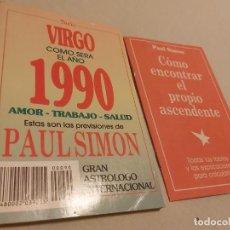 Libros de segunda mano: LIBRO DEL ASTROLOGO PAUL SIMON 1990. Lote 268777694