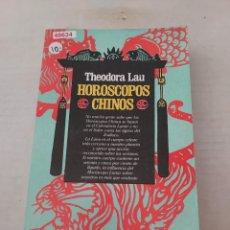 Libros de segunda mano: 48634 - HOROSCOPOS CHINOS - POR THEODORA LAU - EDICION JUAN GRANICA - AÑO 1979. Lote 270677978
