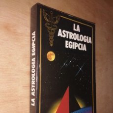 Livres d'occasion: LA ASTROLOGÍA EGIPCIA. FRANCOIS SUZZARINI. Lote 276415868
